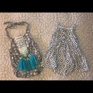 Set of 2 Boho Baby Girl outfits